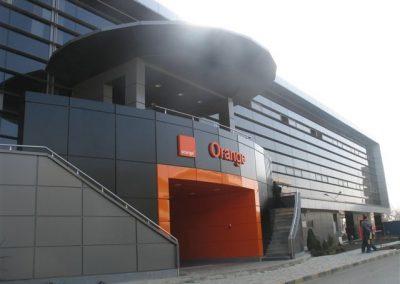 Сградата на Мобилния оператор ORANGE в Букурещ