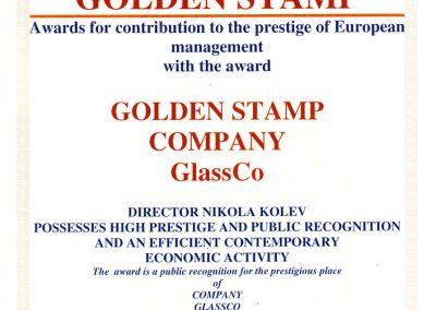 golden stamp