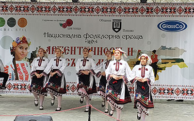 "GlassCo supported the National Folklore event  ""Authenticity and modernity"""